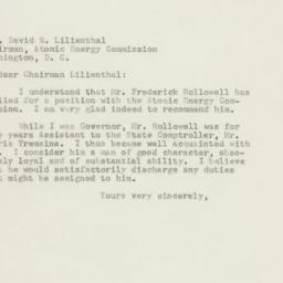 Letter : 1947 October 29
