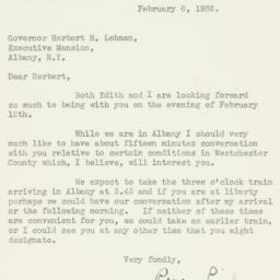 Letter : 1936 February 6