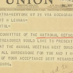 Letter : 1941 May 23