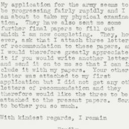 Letter : 1942 August 17