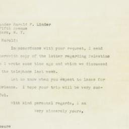 Letter : 1948 February 3