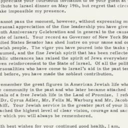 Invitation : 1958 May 12