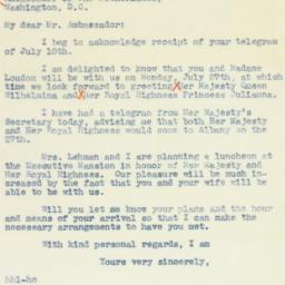Letter : 1942 July 13