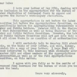 Letter : 1955 June 4