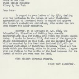 Letter: 1955 June 6