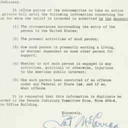 Letter: 1950 April 4