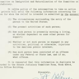 Letter: 1950 April 5