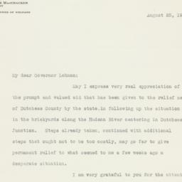 Letter : 1934 August 25
