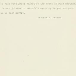 Letter : 1948 February 2