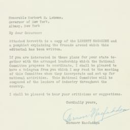 Telegram : 1933 May 26