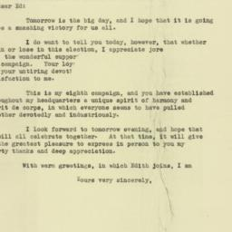Letter : 1949 November 7