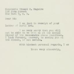 Letter : 1950 April 7
