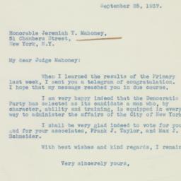 Letter : 1937 September 25