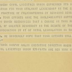 Letter : 1952 December 30