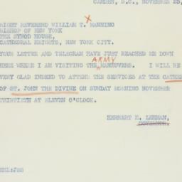 Letter : 1941 November 23