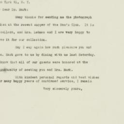 Letter : 1948 December 24