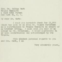Letter : 1950 December 30