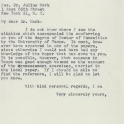 Letter : 1955 June 17
