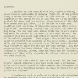 Letter : 1951 January 23