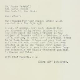 Telegram : 1958 October 14