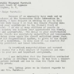 Letter : 1962 September 19