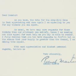 Letter : 1952 October 17