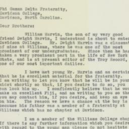 Letter : 1932 September 12