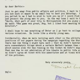 Letter : 1936 November 10