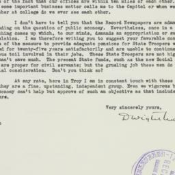 Letter : 1937 May 7