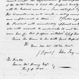 Document, 1796 May 16