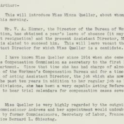 Letter : 1934 October 5