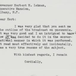 Letter: 1936 January 31