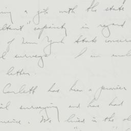 Letter: 1936 August 1