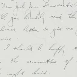Letter: 1936 August 13