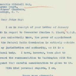 Letter : 1934 January 25