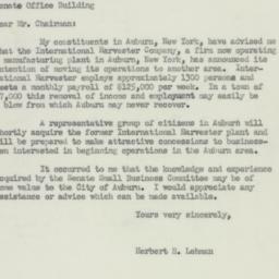 Letter : 1950 February 4