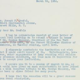 Letter: 1936 March 26