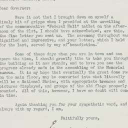 Letter : 1940 February 29