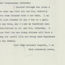 Letter: 1955 July 18