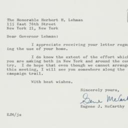 Letter : 1962 September 18
