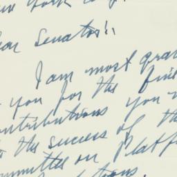 Letter : 1952 August 11