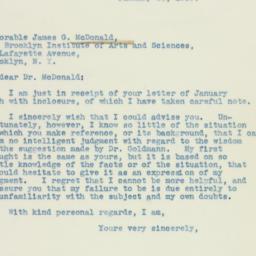 Letter : 1939 January 28