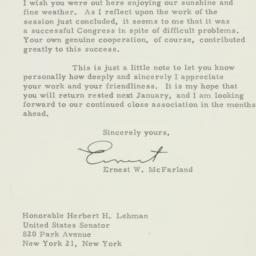 Letter : 1951 November 5