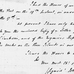 Document, 1796 January 28
