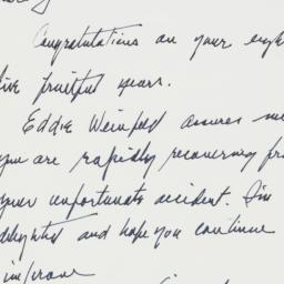 Letter : 1963 March 26