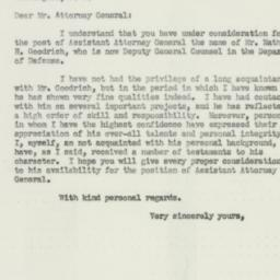 Letter : 1952 July 5