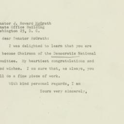 Letter : 1947 October 6