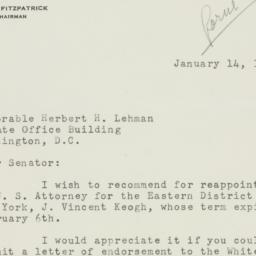 Letter : 1950 January 14