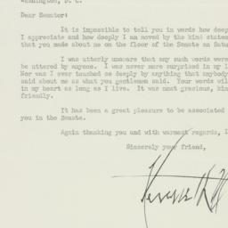 Letter : 1951 July 3