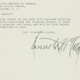 Letter: 1951 July 23